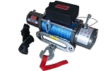Engo 9K E9000S Electric Winch With Synthetic Rope, Fairlead & Remote